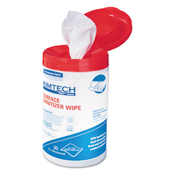 Kimtech* Surface Sanitizer Wipes Thumbnail
