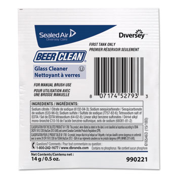 Diversey™ Beer Clean® Glass Cleaner Thumbnail
