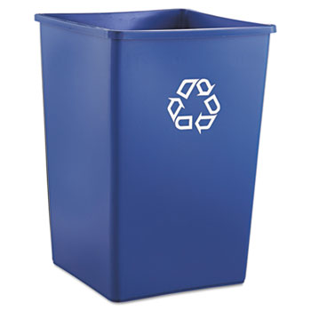 Rubbermaid® Commercial Square Recycling Container Thumbnail