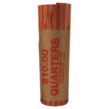 PM Company® Preformed Paper Tubular Coin Wrappers Thumbnail