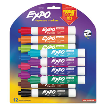 EXPO® Low Odor Dry Erase Vibrant Color Markers Thumbnail