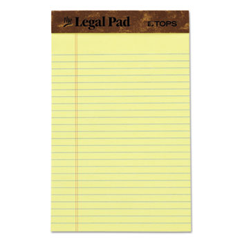 "TOPS™ ""The Legal Pad"" Ruled Perforated Pads Thumbnail"