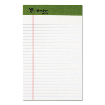 Ampad® Earthwise® by Ampad® Recycled Writing Pad Thumbnail