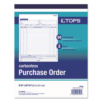 TOPS™ Purchase Order Book Thumbnail