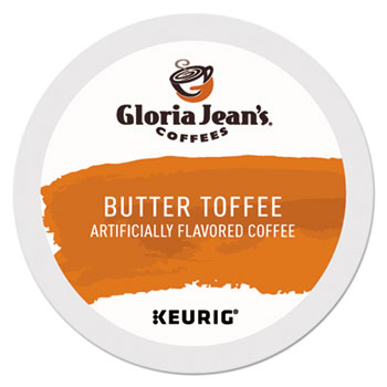 Gloria Jean's® Butter Toffee Coffee K-Cups® Thumbnail
