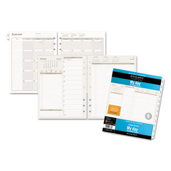 AT-A-GLANCE® Day Runner®Two-Pages-Per-Day Planning Pages Refill Thumbnail