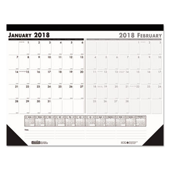 House of Doolittle™ 100% Recycled Two-Month Desk Pad Calendar Thumbnail
