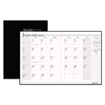 House of Doolittle™ 100% Recycled Ruled 14-Month Planner with Stitched Leatherette Cover Thumbnail