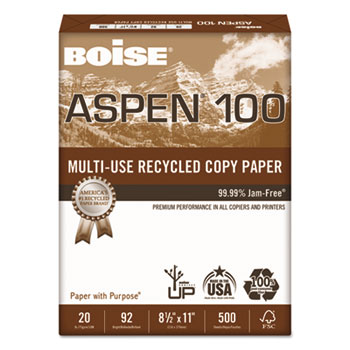 Boise® ASPEN® 100 Multi-Use Recycled Paper Thumbnail