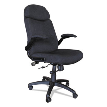 Mayline® Big & Tall Series Executive Swivel/Tilt Chair with Upholstered Arms Thumbnail