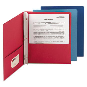 Smead® Two-Pocket Folder with Tang Strip Style Fasteners Thumbnail