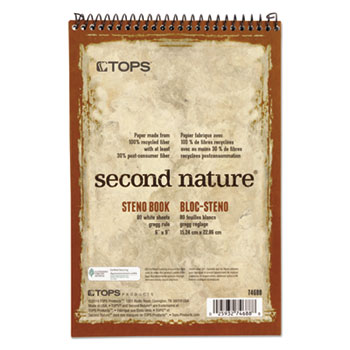 TOPS™ Second Nature® Recycled Notebooks Thumbnail