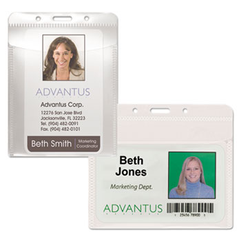 Advantus PVC-Free Badge Holders Thumbnail