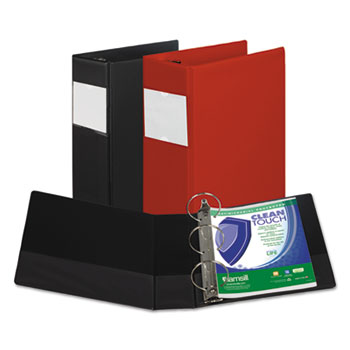 Samsill® Clean Touch™ Locking Round Ring Reference Binder Protected with an Antimicrobial Additive Thumbnail