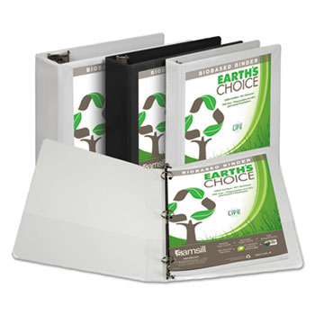 Samsill® Earth's Choice™ Biobased Round Ring View Binder Thumbnail