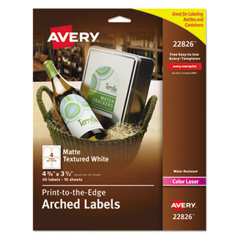 Avery® Square Print-to-the-Edge Labels Thumbnail