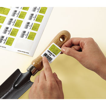 Avery® Removable Durable White Rectangle Labels Thumbnail