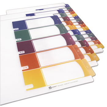 Avery® Ready Index® Customizable Table of Contents Plastic Dividers Thumbnail