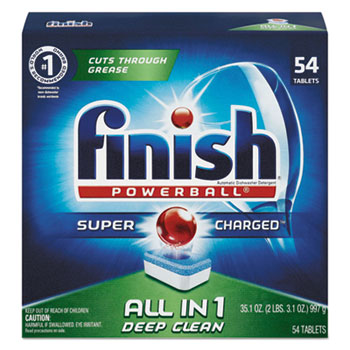 FINISH® Powerball® Dishwasher Tabs Thumbnail