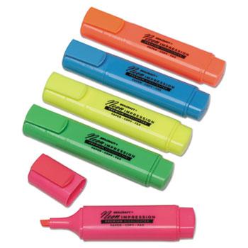 AbilityOne® SKILCRAFT® Flat Fluorescent Highlighter Thumbnail