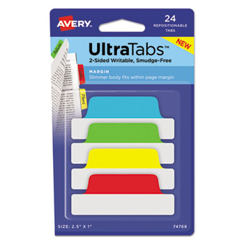 Avery® Ultra Tabs™ Repositionable Tabs Thumbnail