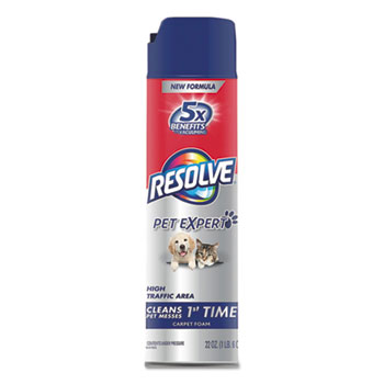 RESOLVE® Pet High Traffic Foam Carpet and Upholstery Cleaner Thumbnail