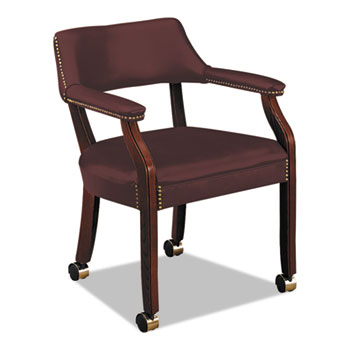 HON® 6550 Series Guest Arm Chair with Casters Thumbnail