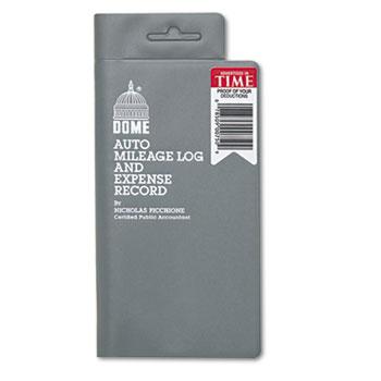auto mileage log expense record by dome dom750 ontimesupplies com