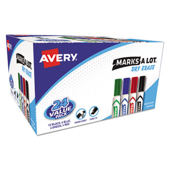 Avery® Marks-A-Lot® Desk-Style Dry Erase Marker Thumbnail