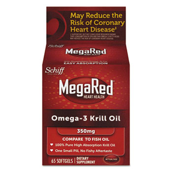 MegaRed® Omega-3 Krill Oil Softgel Thumbnail
