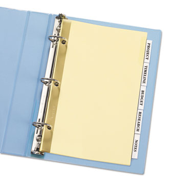 Avery® Insertable Standard Tab Dividers Thumbnail