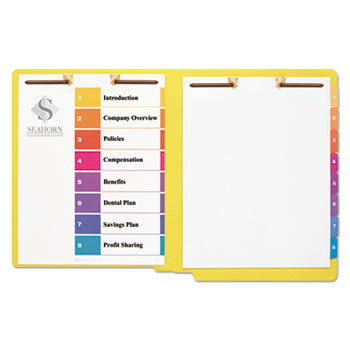 Avery® Preprinted Tab Dividers for Classification Folders Thumbnail