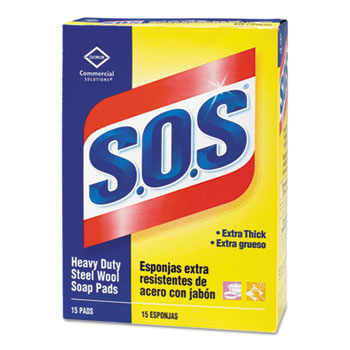 S.O.S® Steel Wool Soap Pads Thumbnail