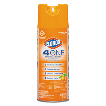 Clorox® 4 in One Disinfectant & Sanitizer Thumbnail