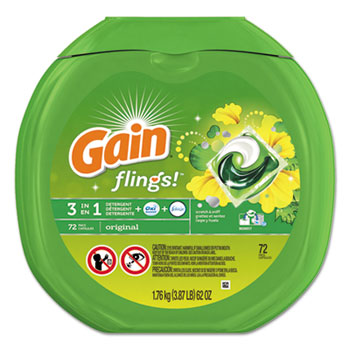 Gain® Flings™ Laundry Detergent Pods Thumbnail