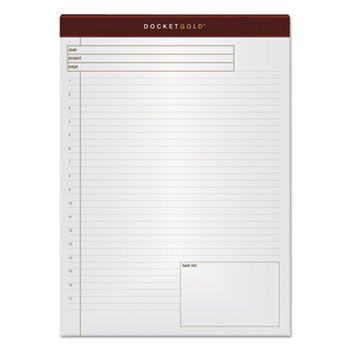 TOPS™ Docket™ Gold Planning Pads Thumbnail