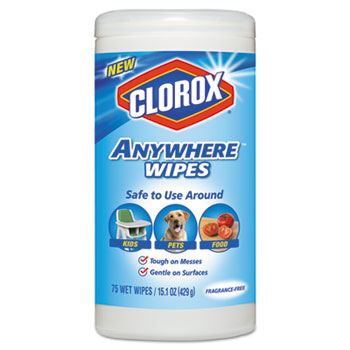 disinfecting wipes by clorox clo31837 ontimesupplies com