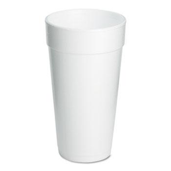 Foam Drink Cups, 20oz, 500/Carton