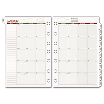 AT-A-GLANCE® Day Runner® Monthly Planning Pages Refill Thumbnail