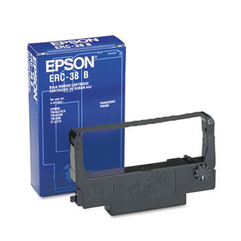 Epson® ERC38B, ERC38BR Cash Register Ribbon Thumbnail