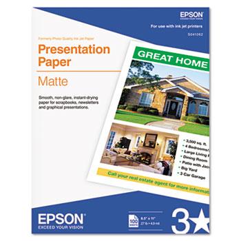 Epson® Matte Presentation Paper Thumbnail