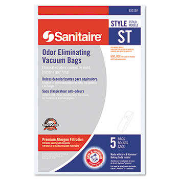 Electrolux Sanitaire® Disposable Bags For SC600 & SC800 Series Vacuums Thumbnail