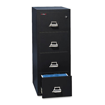FireKing® Four-Drawer Insulated Vertical File Thumbnail
