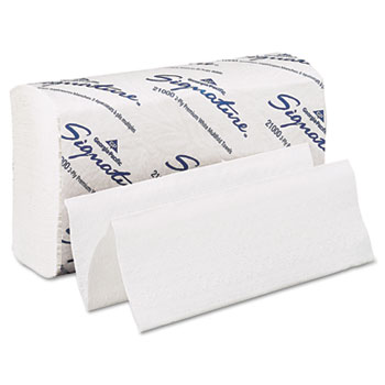 Georgia Pacific® Professional Signature® Two-Ply Folded Paper Towels Thumbnail