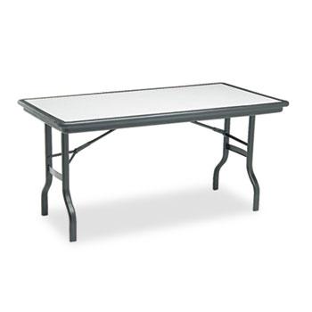 Iceberg IndestrucTable™ Rectangular Folding Table Thumbnail