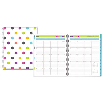 teacher dots academic year cyo weekly monthly planner by blue sky