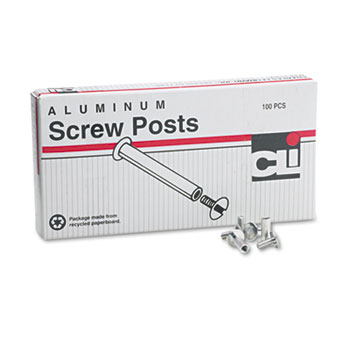Charles Leonard® Aluminum Screw Posts Thumbnail