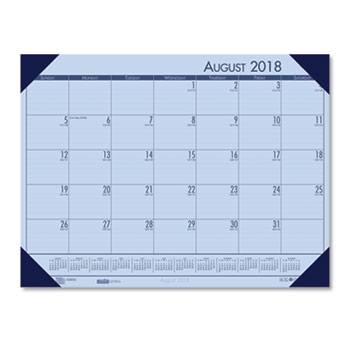 recycled ecotones academic desk calendar by house of doolittle