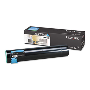 Lexmark™ X945X2CG, X945X2KG, X945X2MG, X945X2YG High-Yield Laser Cartridge Thumbnail