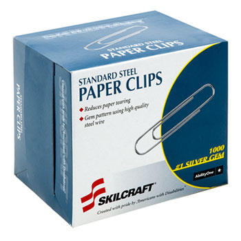 AbilityOne® SKILCRAFT® Paper Clips Thumbnail
